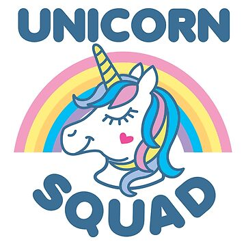 Unicorn Squad by DetourShirts
