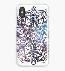 Universe on Mandala iPhone Case/Skin