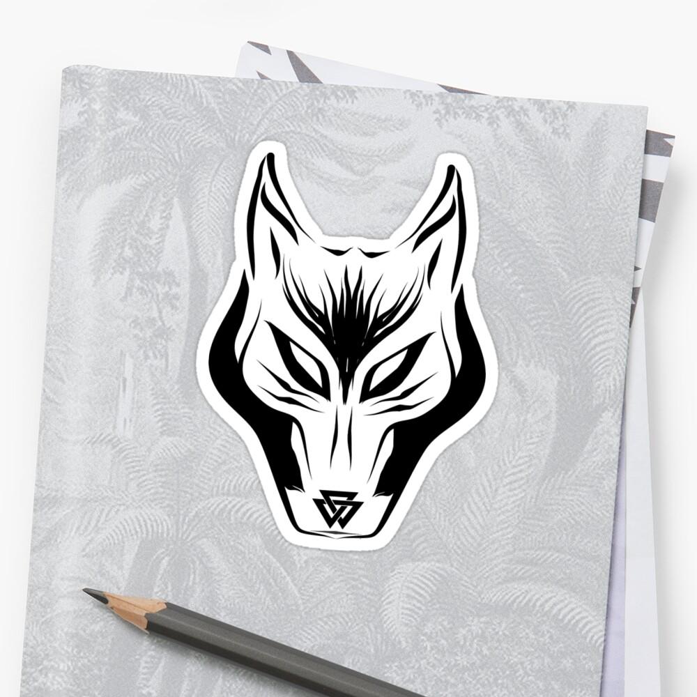 Big bad norse wolf sticker