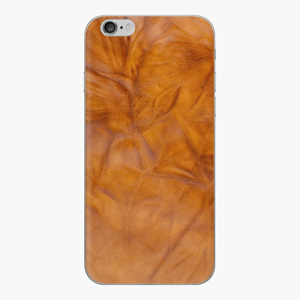 Old leather iPhone Cases & Covers