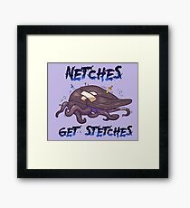 Netches Get Stetches Framed Print