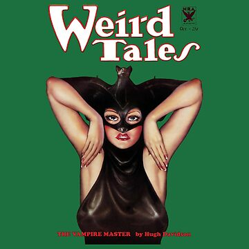 """Weird Tales"" - Vintage Pulp Cover Art - Beautifully Restored  by vertigocreative"