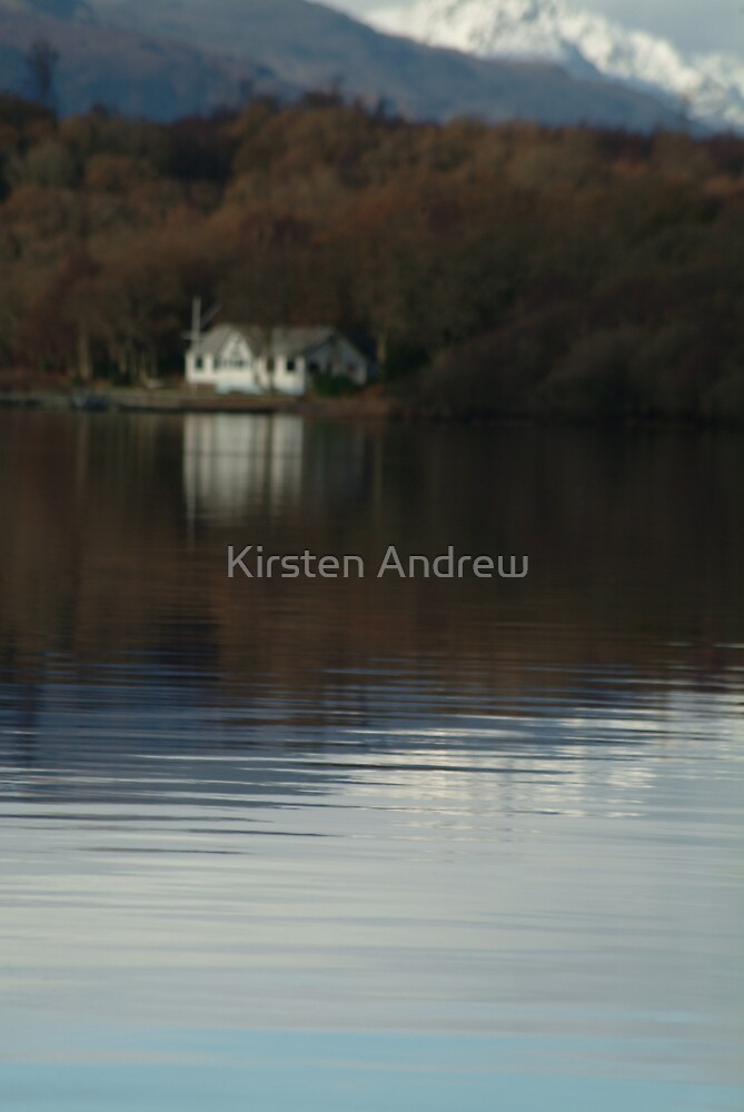 Living by the loch by Kirsten Andrew