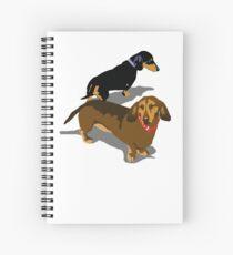 Dachshunds Spiral Notebook