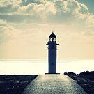Lighthouse Formentera  by Dirk van Laar