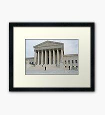 Oberster Gerichtshof Gerahmtes Wandbild