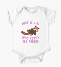 Just a Girl Who Loves Red Panda Animal Spirit Funny Gift Pet Lover Cartoon Illustrations  T-Shirt Sweater Hoodie Iphone Samsung Phone Case Coffee Mug Tablet Case Gift Kids Clothes