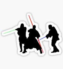 Darth Maul Duel Sticker