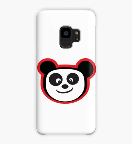 Smiling Panda Case/Skin for Samsung Galaxy