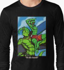 """To the Beach!"" Long Sleeve T-Shirt"
