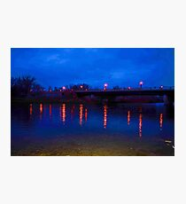 Light Reflections On Water Photographic Print