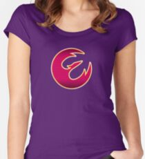 Rebel Phoenix Crest Women's Fitted Scoop T-Shirt