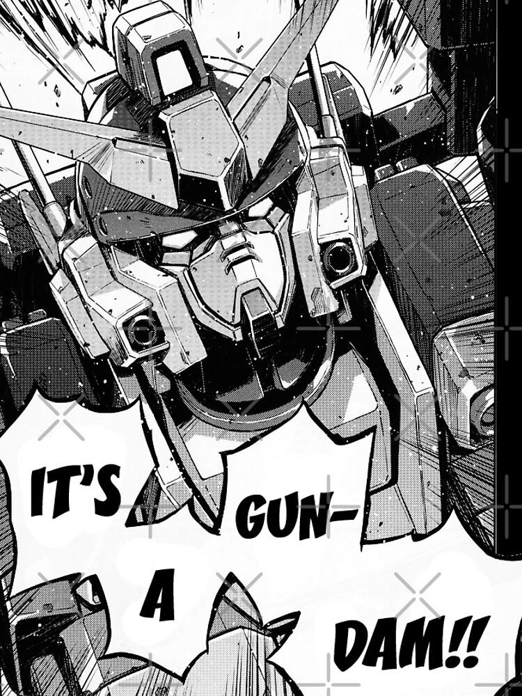 Gundam Wing Manga Heavyarms de lman32