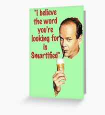 Smartified  Greeting Card