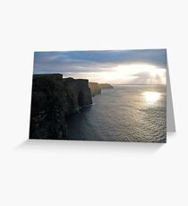 The Cliffs of Mohair Greeting Card