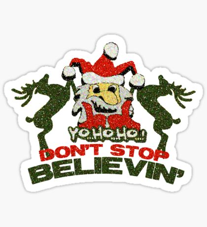 Santa Claus t-shirt Sticker