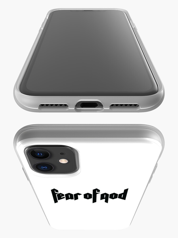 Vista alternativa de Funda y vinilo para iPhone Temor de Dios