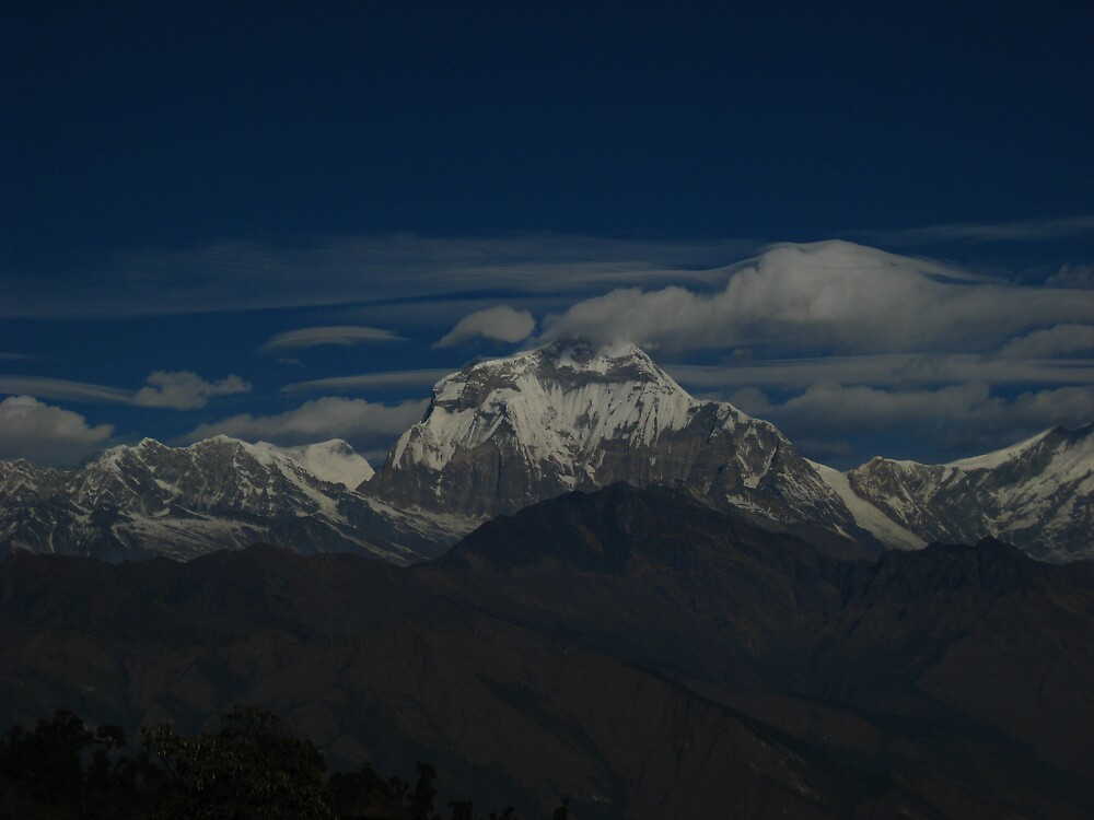 The stunning views of Nepal by mypics4u
