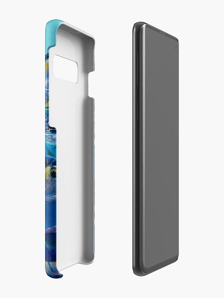 Alternative Ansicht von Yellowfin Run Hülle & Klebefolie für Samsung Galaxy