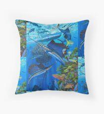 Sailfish Reef Floor Pillow