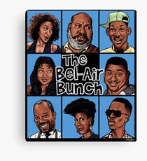 The Bel-Air Bunch Canvas Print