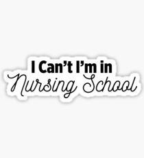 Nursing School Sticker
