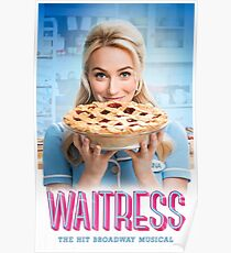 Betsy Wolfe Waitress Poster