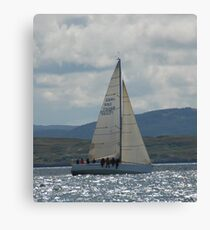 West Highland Week 2007 - A-CREWED INTEREST Canvas Print