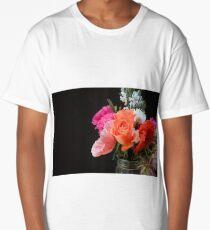 A rose among the Poppy's Long T-Shirt