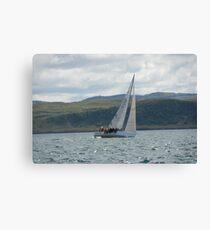 West Highland Week 2007 - HAYLEY'S COMET Canvas Print
