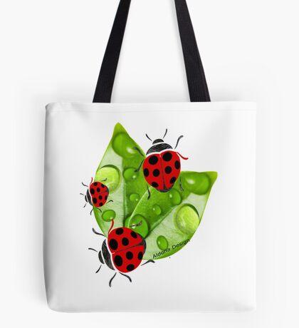 lady bug ( 3351  views) Tote Bag