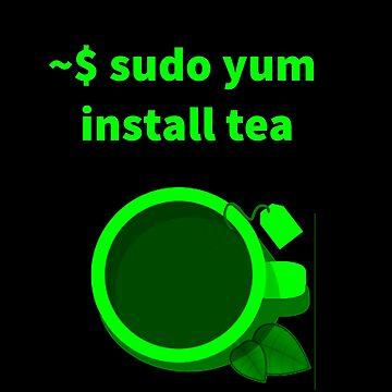 Linux sudo yum install tea by boscorat