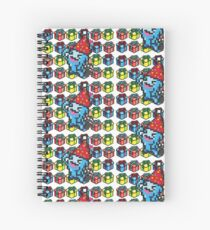 [Pokemon] 8Bit Wobuffet and Staryu Christmas Edition Spiral Notebook