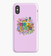 Happy Birthday iPhone Case/Skin