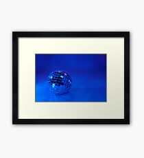 Feeling Blue for Christmas Framed Print