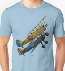 Plane & Simple - Steerman/Kaydet Formation Unisex T-Shirt