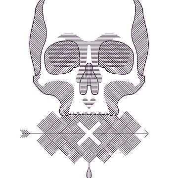 skull'd by although
