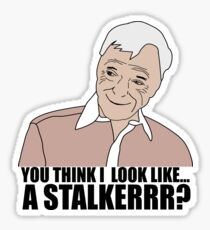 Nathan For You- You think I look like a stalker? Sticker