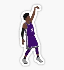 "De'Aaron Fox ""Hold It"" Sticker"
