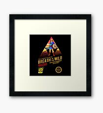 Legend of ZELDA - Breath of the Wild NES Style Framed Print