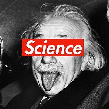 Albert Einstein Supreme Science by thomassb1625