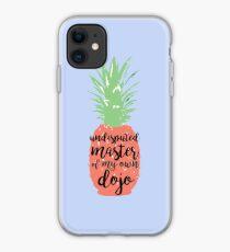 undisputed master of my own dojo - spongebob iPhone Case