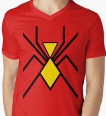 Spider-Woman Men's V-Neck T-Shirt