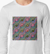 Multicolored geometric ornament seamless pattern T-Shirt