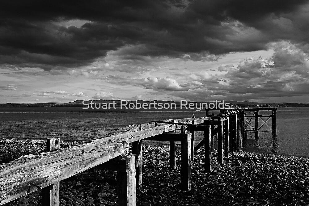 Aberdour Pier by Stuart Robertson Reynolds