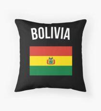 Bolivien Flagge Kissen