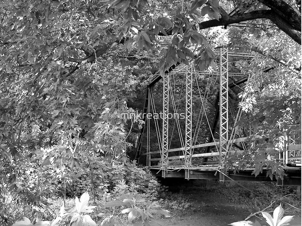 Wildman's Bridge black & white by mnkreations