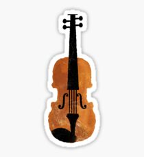 How do you feel about the violin? Sticker