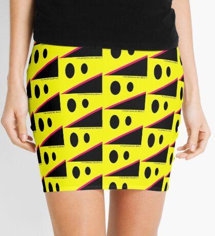 Nevermind The Aliens Mini Skirt