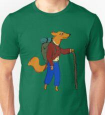 Hiking Fox Unisex T-Shirt